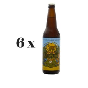 Caixa 6 Cervejas Babylon German Lager - 600ml