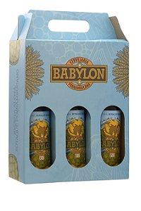 Kit Presente Cerveja Babylon Edição Especial 3 Garrafas - 600ml