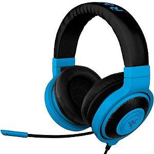 Headset Gamer Razer Kraken Pro Neon Blue - RZ04-00870800-R3M1