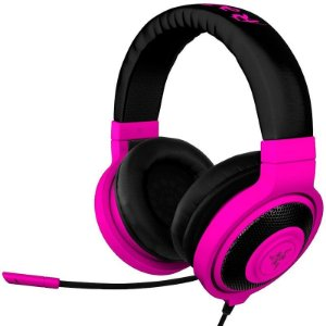 Headset Gamer Razer Kraken Pro Neon Purple - RZ04-00871300-R3M1