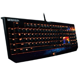 Teclado Gamer Mecânico Razer Blackwidow Ultimate Battlefield 4 - RZ03-00383800-R3U1