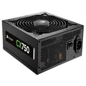 Fonte Gamer Corsair CX750 750w CP-9020015-ww