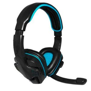 Headset Gamer Knup KP-357 USB Blue