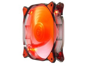 Fan Gamer Cougar 12Cm LED Fan Red