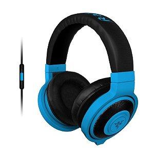 Headset Gamer Razer Kraken Pro Neon Blue Mobile - RZ04-01400600-R3U1