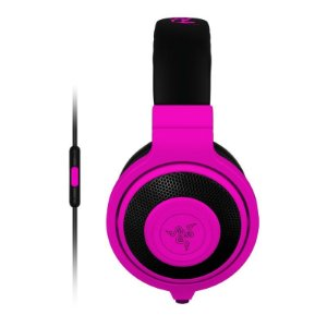 Headset Gamer Razer Kraken Pro Neon Purple Mobile - RZ04-01400500-R3U1