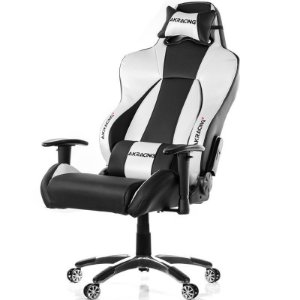 Cadeira Gamer AKRacing Premium V2 Black Silver - AK-7002-BS