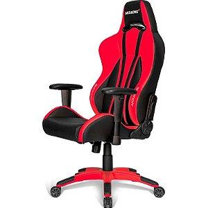 Cadeira Gamer AKRacing Premium Plus Red - AK-PPLUS-RD