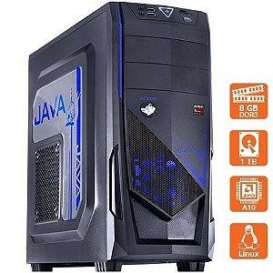 COMPUTADOR GAMER SCORIST DECA BLUE - APU A10 7850K 8GB 1600 MHZ HD 1 TB - MVSCOAZA101T08