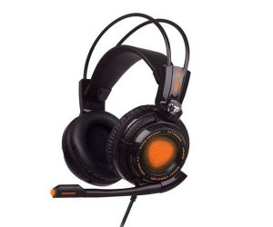 FONE DE OUVIDO OEX HEADSET EXTREMOR GAME 7.1, HS-400 PRETO OUTLET