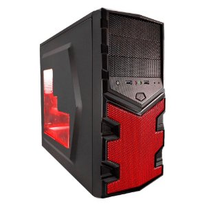 PC Gamer G-FIRE Hercules K, AMD A6 7400K, 8GB RAM, 500GB HD, DVD-RW, HDMI, USB 3.0, PV RADEON R5 2GB