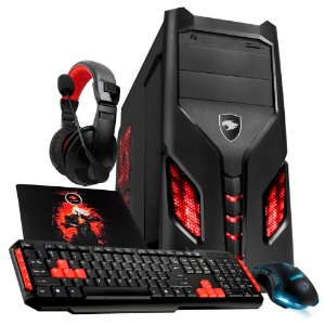PC Gamer G-FIRE Hércules GKX AMD A6 7400K, 8GB , 1TB, HDMI, USB 3.0, PV Radeon R5 2GB