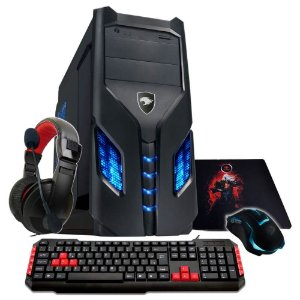PC Gamer G-FIRE Icarus GKX AMD A8 7600, 8GB,1TB , HDMI, USB 3.0, PV Radeon R7 2GB