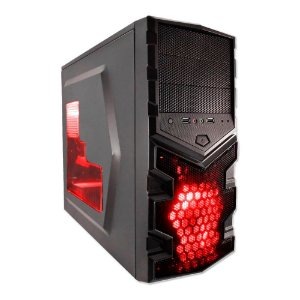 PC Gamer G-FIRE Chimera DiY-I ,AMD FX6300 Personalizável, 8GB , 1TB , DVDR-W, Fonte 430W EVGA 80+