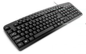 Teclado Multimídia USB Preto TC126 Multilaser