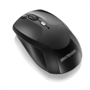 Multilaser Mouse sem Fio Óptico MO146 Preto