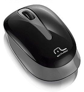 Multilaser Mouse Tablet USB sem Fio MO200 Preto/ Cinza