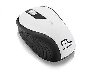 Multilaser Mouse sem Fio 2.4GHz 1200dpi MO216 Preto/Branco