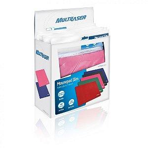 Multilaser Caixa com 40 Mouse Pads - AC066 Coloridos