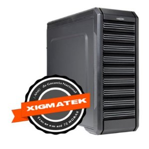 Gabinete Gamer Assassin Xigmatek Black