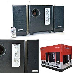 Caixa de som Gamer Microdigi SF6200U