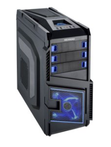 Gabinete Gamer USB 3.0 Microdigi MD-505BB