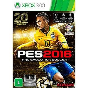 PES 2016 - Pro Evolution Soccer - XBOX 360