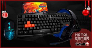 Combo Natal Gamer Game7 Mouse Teclado Headset e Mouse pad