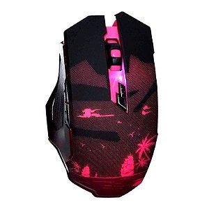 Mouse Gamer Knup V13 2400 DPI