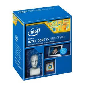 Processador Intel Core i5-4590 Haswell, Cache 6 MB, 3.3GHz (3.7GHz Max Turbo), LGA 1150, Intel HD Graphics 4600 BX80646I54590