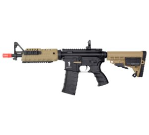 RIFLE AIRSOFT M4 CAA CBQ DUAL COLOR