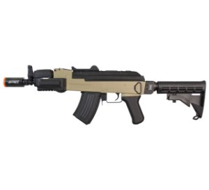 RIFLE AIRSOFT AK SPETSNAZ DUAL COLOR