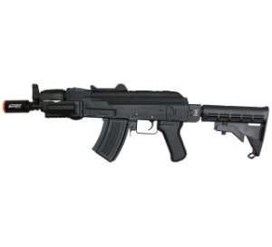 RIFLE AIRSOFT AK SPETSNAZ BLACK