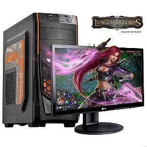 PC GAMER GAME7 i5 4590 4 GB 2x4 HD 500 GB Monitor LG 19.5 - MOBA League Of Legends