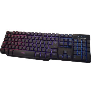 Teclado Gamer Semi Mecanico Oex Force-X TC201 com Led
