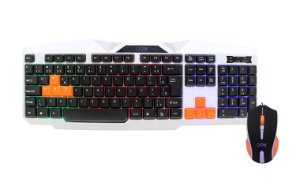 Combo Gamer Mouse e Teclado Oex Ice USB 2400 dpi Multimídia - TM300
