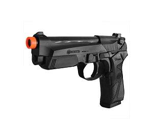 Combo Pistola Arisoft Beretta 90TWO - Mascara de Proteçao G520 Srx Militar