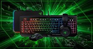 Combo Gamer Razer Chroma - DeathAdder - Blackwidow - Kraken 7.1 V2 - Firefly