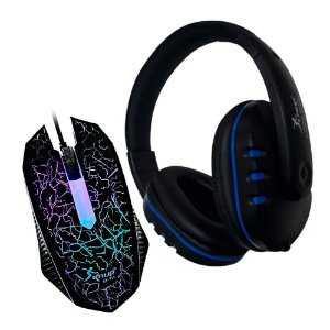 COMBO G7 STORM HEADSET + MOUSE COM LED