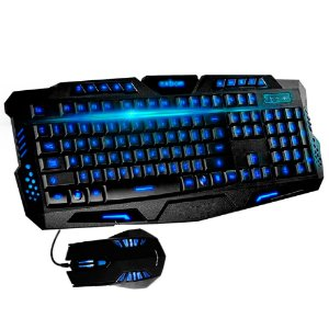 COMBO GAMER G7 BLUE TECLADO + MOUSE