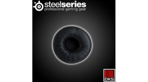 SteelSeries Flux Ear Almofada de pano preto