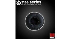 SteelSeries Flux Ear Almofada de pano preto