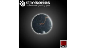 SteelSeries Flux Outer ear-cup plate Black and Orange WTF