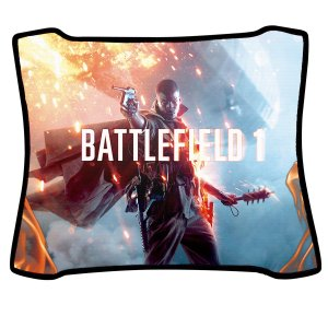 Mouse Pad Gamer Magnum Battlefield 1 Speed Medio