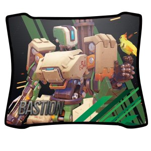 Mouse Pad Gamer Magnum Overwatch Bastion Speed Medio