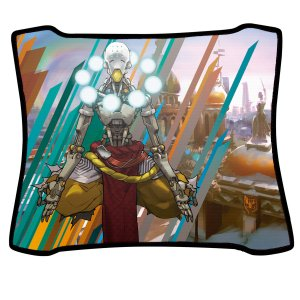 Mouse Pad Gamer Magnum Overwatch Zenyatta Speed Medio