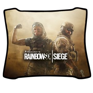 Mouse Pad Gamer Magnum Rainbow Six Valkyrie e Blackbeard Speed Medio