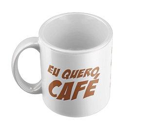 Caneca Homer Simpsons Eu Quero Café