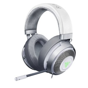 Headset Gamer Razer Kraken V2 Chroma 7.1 Mercury Edition