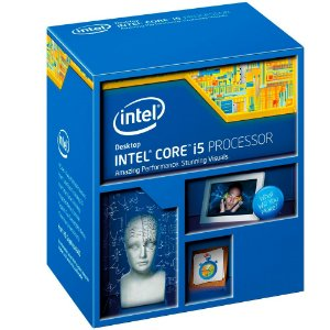 Processador Gamer Inte i5-4460 Haswell, Cache 6MB, 3.2GHz (3.4GHz Max Turbo), LGA 1150 BX80646I54460